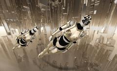 Cyborg(s) - stock photo