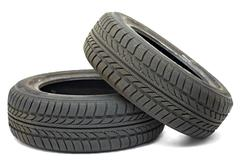 Tyre sets - stock photo