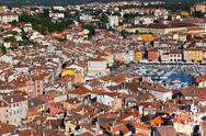 Stock Photo of aerial view from rovinj belfry, croatia