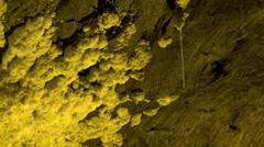 Minerals, Mines, Underground Caverns Stock Footage
