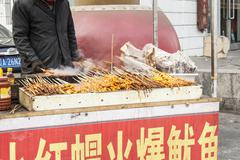 Stock Photo of street food in shenyang china