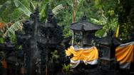 Stock Video Footage of Balinese temple