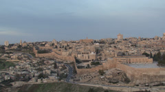 Jerusalem Old City Stock Footage