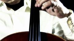4K Cello 48 stylized Stock Footage