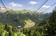 Stock Photo of Alta val di Fassa