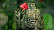 Stock Video Footage of Bali sculpture