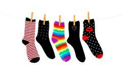 More orphan socks Stock Photos