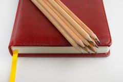 Stock Photo of daily log pencil