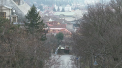 4K Esztergom Hungary 6 winter Stock Footage