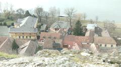 4K Esztergom Hungary 11 winter Stock Footage