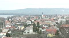 4K Esztergom Hungary 13 winter Stock Footage