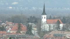 4K Esztergom Hungary 14 winter Stock Footage