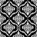 Stock Illustration of ornate damask style arabesque design