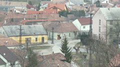 4K Old Rural Town in Hungary 3 Stock Footage
