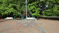 Climbing frame Stock Footage