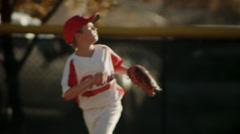 Hart Baseball Practice Stock Footage