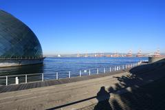 osaka maritime museum - stock photo