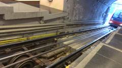 Metro barcelona Stock Footage