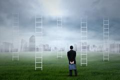 Business prospect Stock Illustration