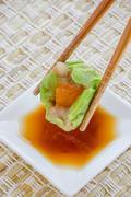 Chinese food - tim sum. Stock Photos