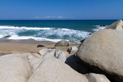 tayrona national park, colombia - stock photo