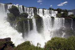 Stock Photo of iguazu waterfall