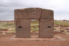 Stock Photo of tiwanaku