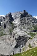 Stock Photo of swiss alps