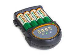 Battery charger Stock Photos