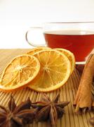 Rooibos tea with spices Stock Photos