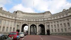 Admiralty arch london Stock Footage
