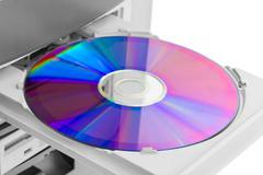 Computer cd-rom Stock Photos