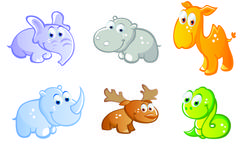 Baby animals Stock Illustration
