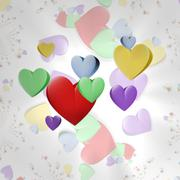 Hearts Stock Illustration