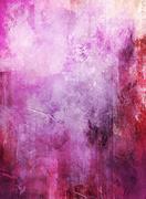 abstract mixed media artwork - stock illustration