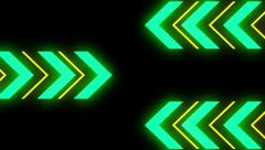 Arrows Panels2 - stock footage