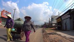 Vietnamese women. Stock Footage