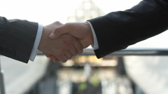 Stock Video Footage of shaking hands (ntsc)