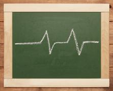 Heartbeat sign Stock Photos
