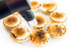 portuguese pastries - stock photo
