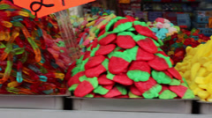 Candy shop Stock Footage