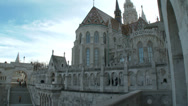 Stock Video Footage of Budapest Hungary Castle of Buda 1