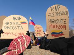 Stock Photo of Venezuelan Revolutionary Protest