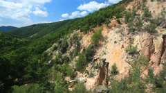 Devils town - Serbia Stock Footage