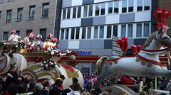 Carnival in Cologne 2014 Stock Footage