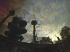 Seattle Space Needle 1 Stock Footage