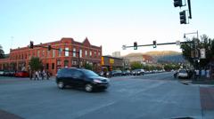 Steamboat Springs street Stock Footage
