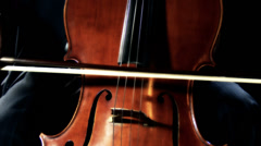 Cello 30 stylized Stock Footage