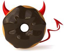 Doughnut Stock Illustration