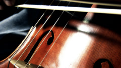 Cello 39 stylized Stock Footage